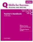 Q Skills for Success Intro Reading and Writing Teacher's Handbook with Testing Program CD-ROM
