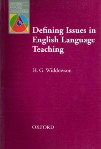Defining Issues in Language Teaching