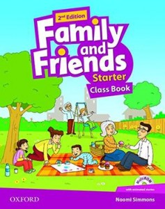 Family and Friends Second Edition  Starter Class Book