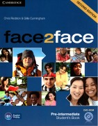 face2face Pre-Intermediate Student's book with DVD-ROM 2d Edition