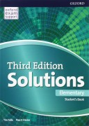 Solutions elementary  Student's Book 3d edition