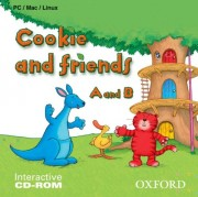 Cookie and friends A and B interactive CD-ROM